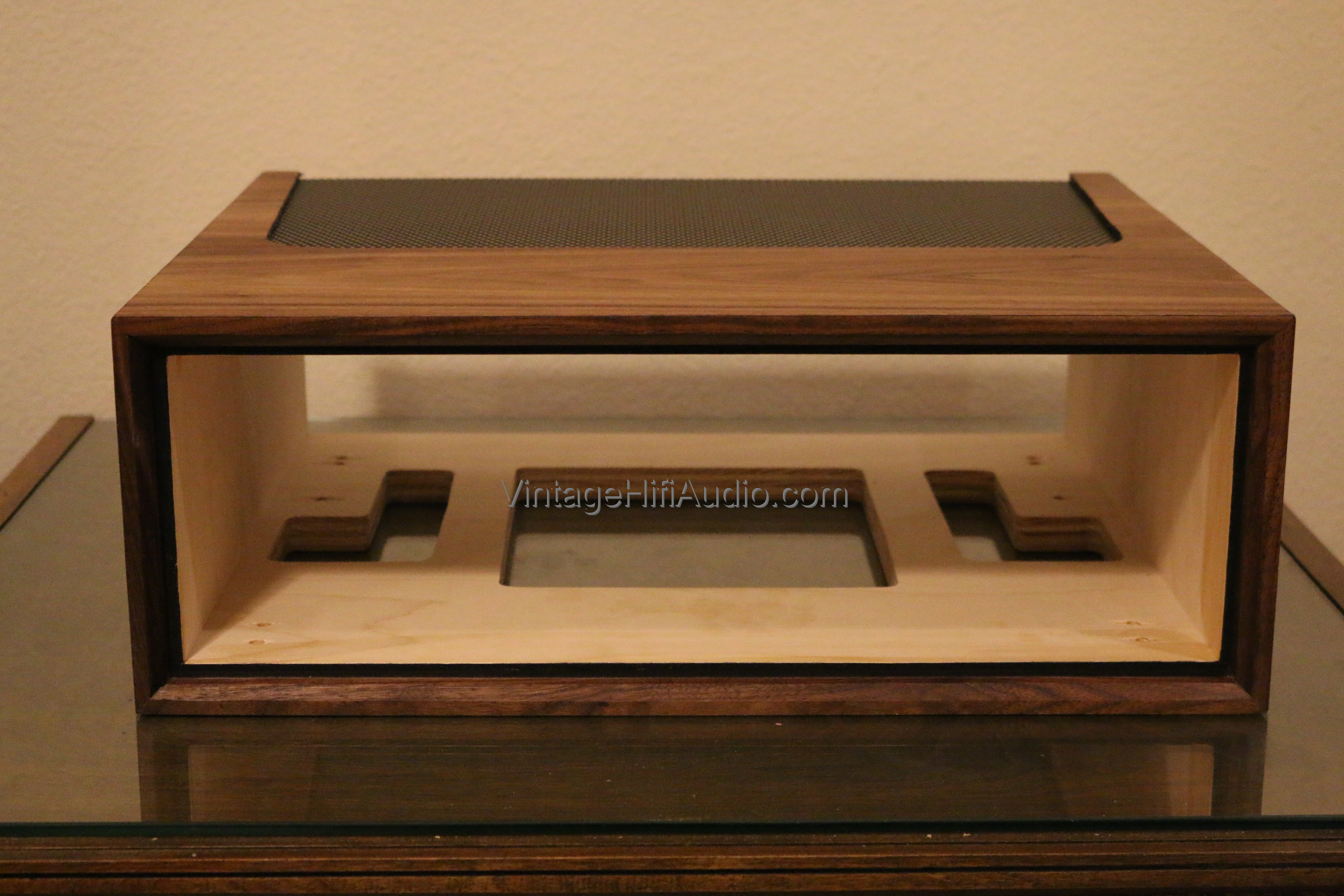 marantz wc 22 wc 42 wood case vintage hifi audio. Black Bedroom Furniture Sets. Home Design Ideas