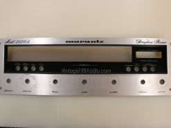 Marantz 2220B faceplate. Lot 1